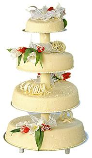 Итальянский сад свадебные торты